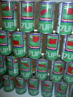 Individual 1976 Bicentennial 7 Up Soda Cans United We Stand Uncle Sam