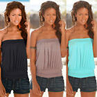 SEXY BACKLESS SUMMER SLIM WOMEN CASUAL HOT SLEEVELESS BLOUSE T SHIRT TOPS