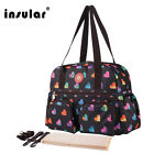 Printed Baby Diaper Bag Premium Quality Mommy Bag Waterproof Nappy Changing Bag