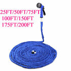 170FT Magic Water Pipe Household Telescopic Hose Car Wash Gun Watering Garden