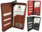 Visconti RFID Soft Leather Travel Wallet For Passports, Tickets & Cards - 1157 image