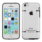 NEW TopG Slim Matte Hard Crystal Clear TPU Bumper Case Cover FOR iPhone 5C