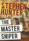 THE MASTER SNIPER unabridged audio book on CD by STEPHEN HUNTER