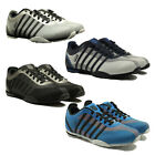 MENS KSWISS TRAINERS ARVEE LACE UP IN GREY SILVER BLACK WHITE BLUE COLOURS 6-12