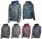 MEN'S HIGH TECH PERFORMANCE, MOISTURE WICKING, PULLOVER, PRINTED HOODIE, XS-4XL