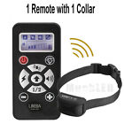 2017 Waterproof Electric Shock Remote Training Collar Bark Collar for 1-2 Dogs