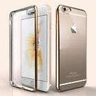 Luxury Quality Gold TPU Soft Clear Case Cover For Iphone 6 6s {[iu77