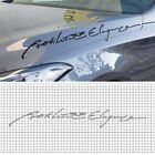 Decal Product Slogan Sticker 650mm For Hyundai Genesis Sedan : DH