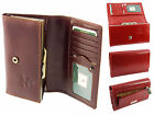 Visconti Womens Ladies Italian Leather Purse Clutch Wallet In Gift Box - MZ12