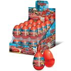 Cars Surprise Eggs-Party bag filler, Easter Egg Hunt, (Treats) Lightning McQueen