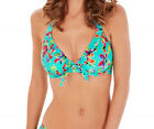 Lepel Swim LE157561 Sunset Halterneck Bikini Top in Blue