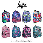 Hype Backpack Rucksack School Bag Various Multicoloured Floral Patterned Styles