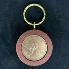 80th Birthday Gift Present 1937 Jarrah Penny Keyring other years available