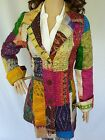 Boho SILK Trench Coat NEW Ladies Stylish Jacket Size 8 10 Gorgeous!!