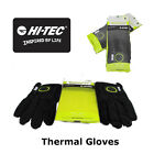 Winter Gloves-Therma Feel Pair of gloves-Hi Tec-Black Lime-New