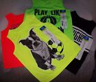 BOYS OKIE DOKIE MUSCLE TANK TOP SHIRTS,MULTIPLE COLORS/GRAPHICS/SIZES BRAND NEW