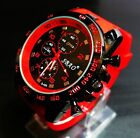 New Stainless Steel Luxury Sport Analog Quartz Modern Men's Fashion Wrist Watch