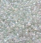 20g - 100g Transparent Rainbow Clear Seed beads Size 11/0. 161