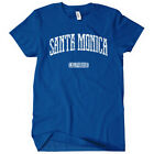 Santa Monica California Women's T-shirt S-2X - Gift Pier College Beach Surfing