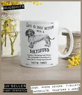 Dachshund Sausage Dog Mug ~ Perfect Gift can be personalised ~ Vintage Style