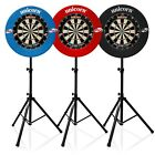 Unicorn Eclipse Pro 2 Dartboard and Gorilla Arrow Pro Dartboard Stand & Surround