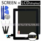 LCD display  Touch Screen Digitizer - Replacement For Apple iPad 2 BLACK