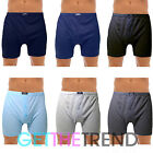 6 Pack Mens Boxers Shorts Plain Jersey Underwear Briefs Trunks MultiPack Adults