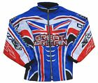 Wulfsport GB Ride Jacket Race Coats Motocross Motorbike MX Great Britain