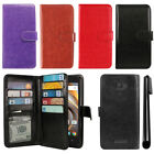 For Coolpad 3622A Flip Magnetic Card Holder Wallet Pouch Cover Case + Pen