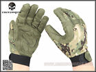 EMERSON Tactical Lightweight Camouflage Gloves AOR2 S/M EM8718