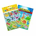Dinosaur Stickers Party Bag Fillers, Toys, Boys Favours, Loot, Wedding Rewards