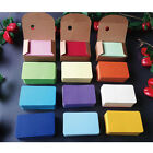 100 Sheets Thick Colourful DIY Blank Post Card Kraft Double-sided Sketch #JP