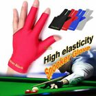 Spandex Snooker Billiard Cue Gloves Pool Left Hand Open Three Finger Glove FT £2.59 GBP on eBay