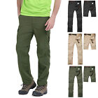 Men Detachable Outdoor Anti-UV Breathe Quick Drying Elastic Pants Hiking Trouser
