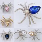 New Men's Women's Exquisite Spider Crystal Rhinestone Brooch Pin Party Jewelry