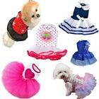 Small Dog Cat Tutu Dress Lace Skirt Pet Puppy Dog Princess Costume Apparel HOT