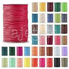 1 Roll 170/80/40M Korea Waxed Cotton Thread Cord Jewellery Beading 1/1.5/2/3mm