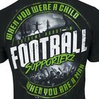 T-SHIRT EXTREME HOBBY FOOTBALL SUPPORTERS PRINT GREEN HOOLIGANS ULTRAS GROUP