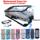 for Apple iPhone 7 Plus/6s/5s/7 Shockproof Waterproof Dirt Proof Case Full Cover