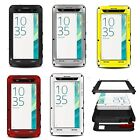 For SONY XPERIA XA Shockproof Waterproof Gorilla Glass Metal Rugged Case Pouch