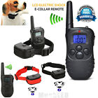 Внешний вид - Waterproof 1000 Yard 2 Dog Shock Training Collar Pet Trainer With Remote 4 Modes
