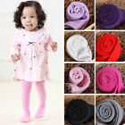 Cute Solid Color Baby Toddler Infant Kids Girls Warm Tights Pantyhose Stockings