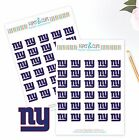 New York Giants Planner Stickers - Perfect for all Planners like Erin Condren $2.5 USD on eBay
