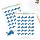 Detroit Lions Planner Stickers - Perfect for all Planners like Erin Condren $3.5 USD on eBay