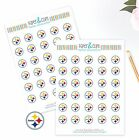 Pittsburgh Steelers Planner Stickers - Perfect for Planners like Erin Condren $4.0 USD on eBay