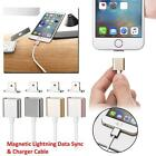 4/2pc Magnetic Adapter Charger USB charging Line Cable For iPhone 7/6 Plus/iPad