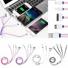 4 in 1 USB Charger Cable Multi Plu for iPhone iPad Samsung Tab HTC Sony