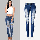 Sexy Womens High Waist Vintage Ripped Denim Holes Ladies Shorts Jeans Hot Pants