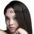 """8""""-22"""" Kinky Straight Full / Front Lace Wig Human Hair Lace Wig Baby Hair"""