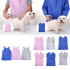 Professional Pet Grooming Gown Apron Anti-static Short/Long/Sleeveless Clothes